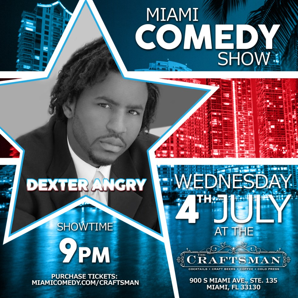 4th of July Miami Comedy Show