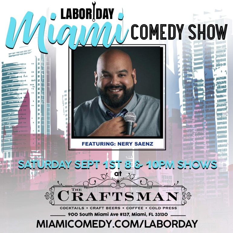 Labor Day Miami Comedy Show