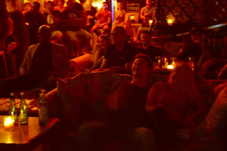 Redbar Comedy Night 9-17-18