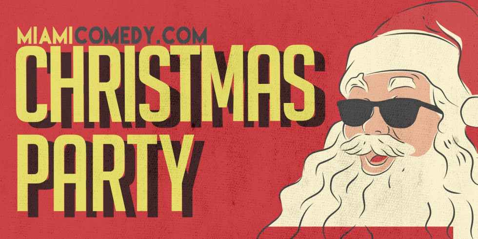 Miami Comedy Christmas Party