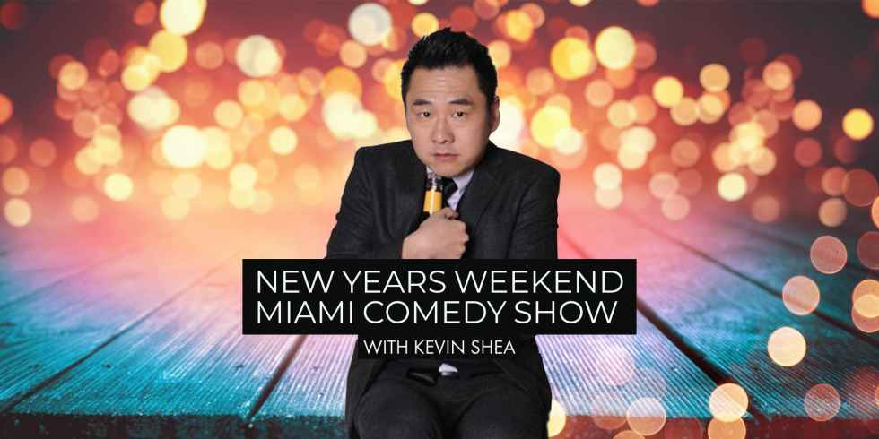 new years weekend miami comedy show