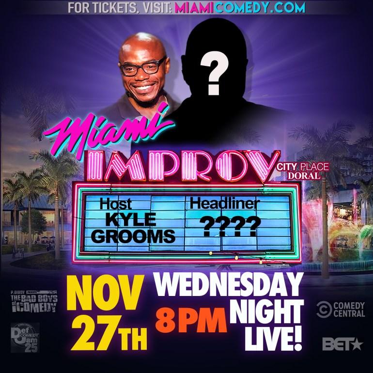 Wednesday Night Live Thanksgiving Eve Miami Improv