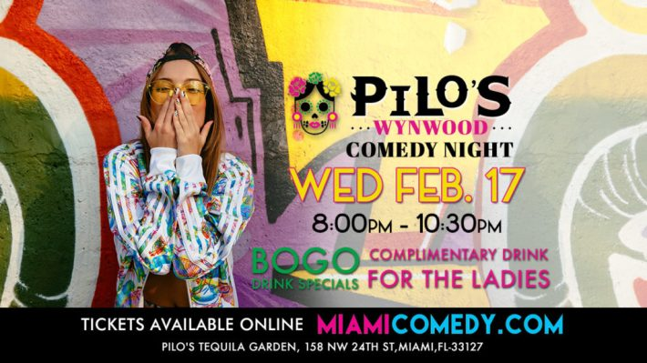 Pilos Wynwood Comedy Night