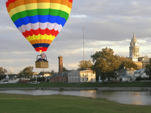 Mayor Beamish Crashes Hot Air Balloon on Troy Square
