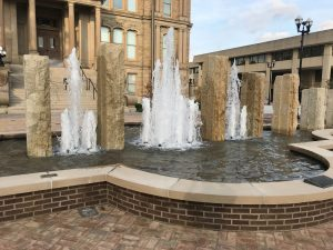 Miami County Courthouse Permits Use of Fountains as Bidets