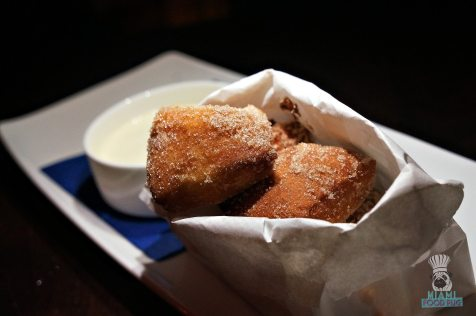 Apeiro - Nutella Donuts with Creme Anglaise Dipping Sauce