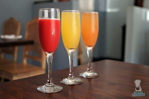 Pinch - Brunch - Blood Orange Juice and Mimosas