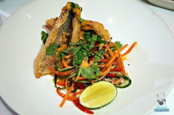 Red, The Steakhouse - Miami Spice - Flash Fried Snapper