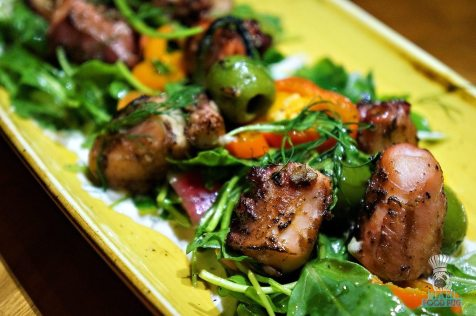 The Social Club - Charred Octopus