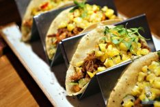 The Social Club - Smoked Porchetta Tacos
