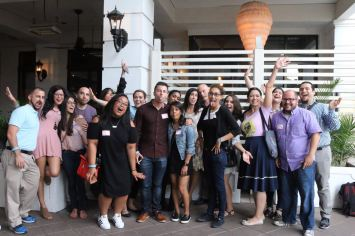 Coral Gables Food Tour 2 - Group. Photo Credit: Nabila Verushka