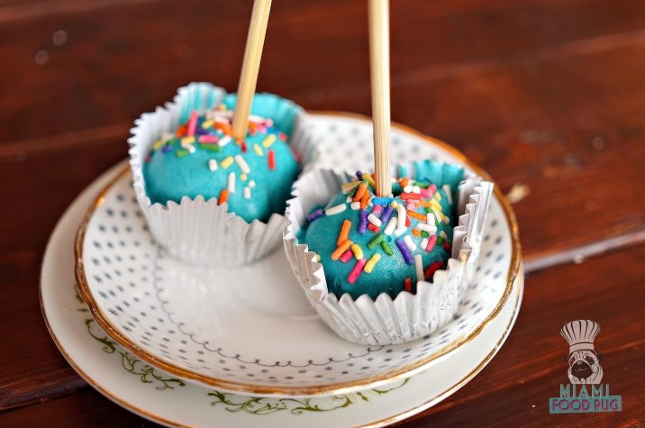 Cream Parlor - Unicorn Poop Cake Pops