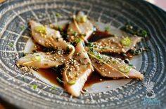 Tanuki - New Style Sashimi with Hamachi