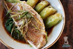Blackbrick - Steamed Red Snapper