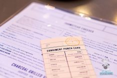 Charcoal - Condiment Punch Card