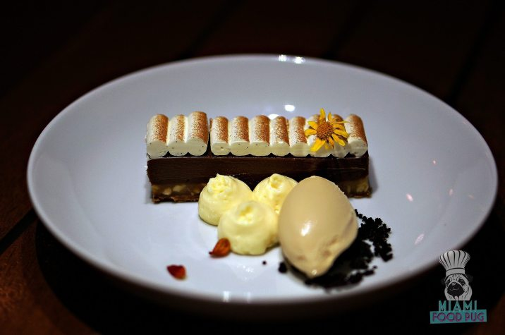 The Restaurant at The Raleigh - Chocolate Peanut Butter Banana Bar