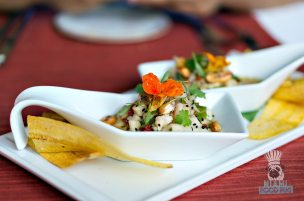 Essensia - Bahamian Style Shrimp and Conch Ceviche