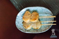 Monkitail - Scallops Skewers