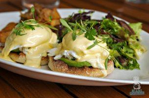 Steak 954 - Brunch - Crab and Avocado Benedict