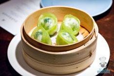 Fontainebleau Miami Spice - Hakkasan - Spinach Scallop Dumpling