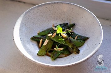 Byblos - Miami Spice 2017 - Blistered Snap Peas