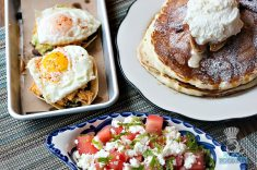 Lolo's Surf Cantina - Breakfast - Tostadas, Pancakes, Watermelon Salad
