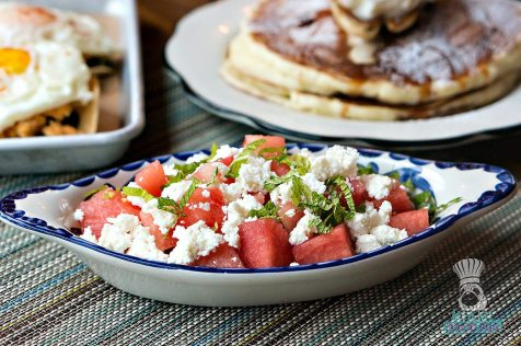 Lolo's Surf Cantina - Breakfast - Watermelon Salad