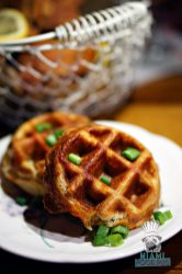Root and Bone Miami Beach - Buckwheat Cheddar Waffles