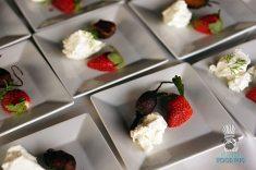 Swank Farms - Gauchos Asado Dinner - Strawberry, Beet, Chevre Bite