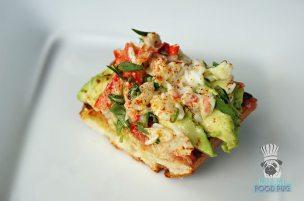 The Bazaar by Jose Andres - Brunch - Crab Avocado Pan Con Tomate