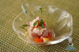 The Bazaar by Jose Andres - Brunch - Snapper Ceviche
