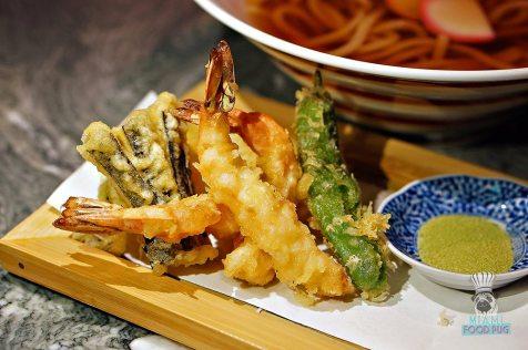Azabu - Shrimp and Vegetavle Tempura