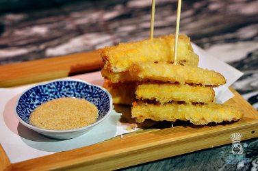 Azabu - Tomorokoshi Tempura with Curry Salt