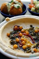 Dizengoff - SOBEWFF Chef Takeover - Fermented Broccoli Rabe Hummus