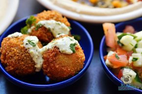 Dizengoff - SOBEWFF Chef Takeover - Lentil Croquettes