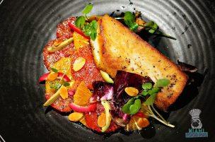 LT Steak and Seafood - Local Cobia Blackboard Special