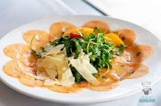 CIRC Hotel - Olivia Restaurant and Bar - Salmon Carpaccio