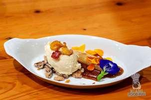 Estancia Culinaria x Heirloom Hospitality Group Farm to Farm Dinner - Bananas Foster