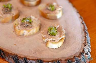 Estancia Culinaria x Heirloom Hospitality Group Farm to Farm Dinner - Pork Rillettes