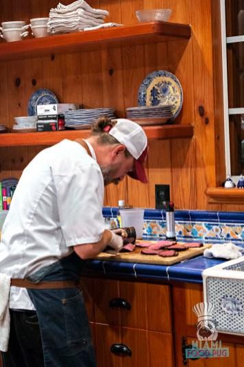 Estancia Culinaria x Heirloom Hospitality Group Farm to Farm Dinner - Slicing