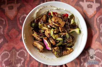 Fooq's - Miami Spice - Dinner - Crispy Honey Glazed Brussels Sprouts