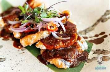 Novikov - Miami Spice Lunch - Wok Salmon with Black Bean Sauce