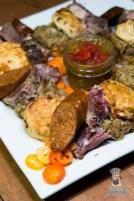 Swank Table - Farm Market Dinner - Pork Shoulder 3 Ways by Aioli
