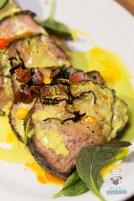 Swank Table - Farm Market Dinner - Charred Chili Rubbed NY Strip by Matador Room