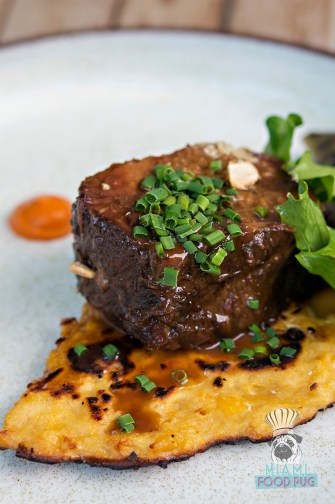 Obra Kitchen Table - Miami Spice - Ossobucco and Cachapa