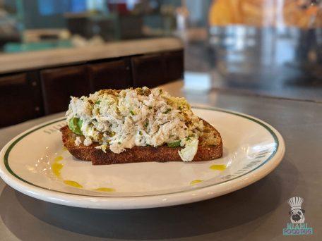 Saltie Girl - Crab Toast