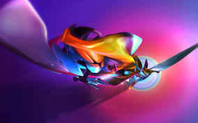 cool color abstract