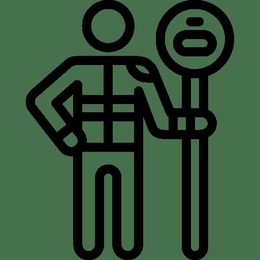 School Safety Patrol Icon