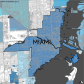Miami-Dade Municipality: Miami, 2014. Source: Matthew Toro. 2014. [Note: Data used carry some minor geometric inaccuracies/errors. Not to be used for legal purposes.]
