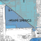 Miami-Dade Municipality: Miami Springs, 2014. Source: Matthew Toro. 2014. [Note: Data used carry some minor geometric inaccuracies/errors. Not to be used for legal purposes.]